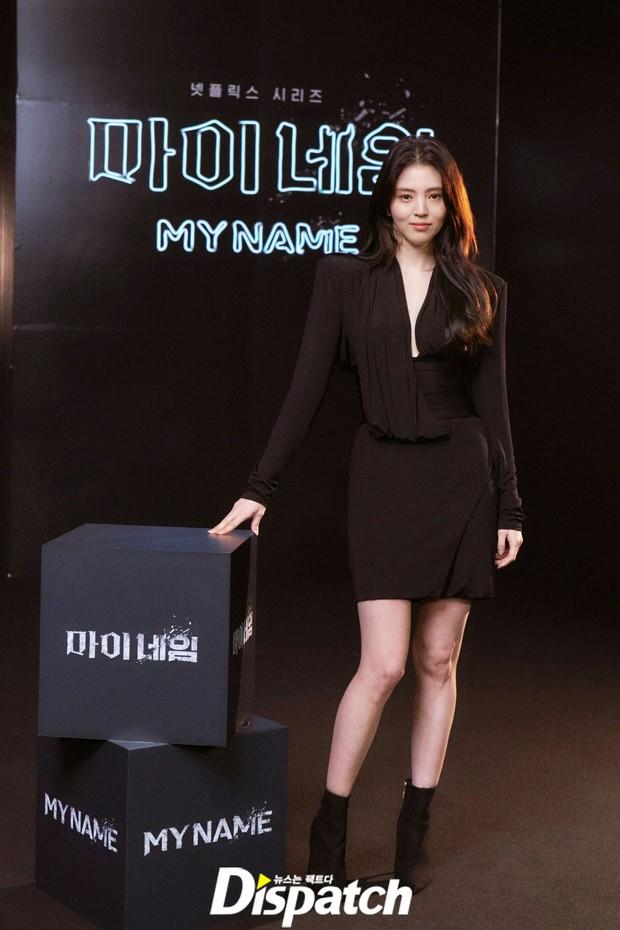 Ngất lịm vì tiểu tam Han So Hee diện váy xẻ sâu hoắm lộ vòng 1 căng tràn, khoảnh khắc suýt hớ hênh khiến netizen thót tim - Ảnh 5.