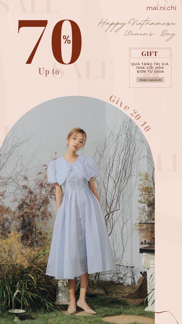 HOT: 4 local brand chuyên style dịu dàng đang sale tới hơn 50%, toàn đồ xinh yêu diện lên vừa nữ tính vừa sang chảnh - Ảnh 9.