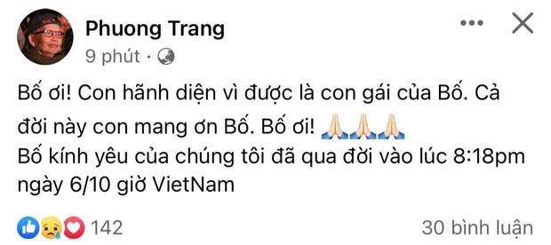 Tin buồn: Bố nghệ sĩ Hoài Linh qua đời tại Mỹ - Ảnh 2.