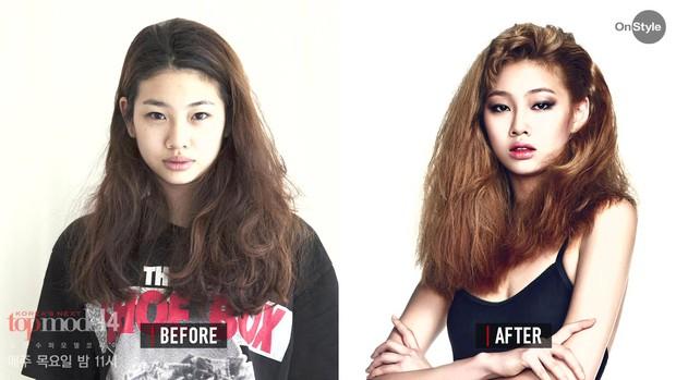 Ngôi sao hot nhất bom tấn Squid Game từng bị cắt tóc ở Next Top Model: Thời trang gì đây? - Ảnh 7.