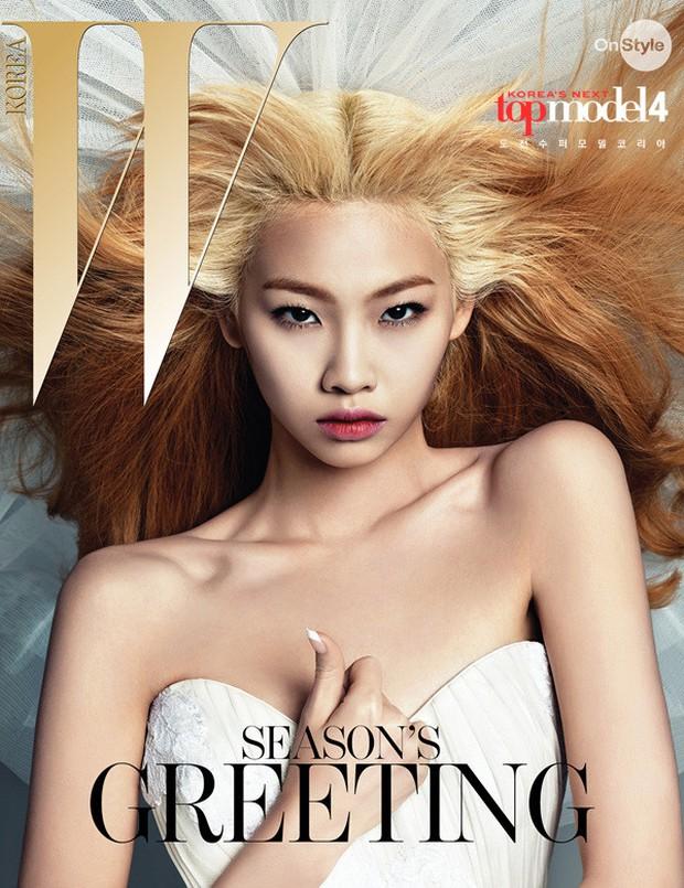 Ngôi sao hot nhất bom tấn Squid Game từng bị cắt tóc ở Next Top Model: Thời trang gì đây? - Ảnh 14.