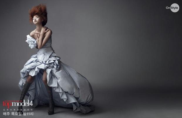 Ngôi sao hot nhất bom tấn Squid Game từng bị cắt tóc ở Next Top Model: Thời trang gì đây? - Ảnh 11.