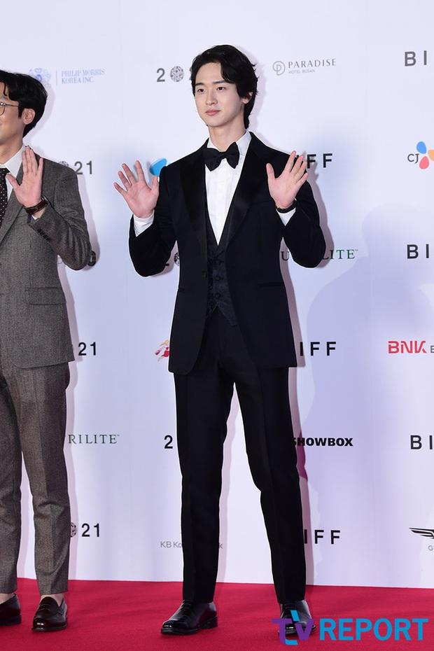 Siêu thảm đỏ LHP Busan: Song Joong Ki đụng độ bạn thân Song Hye Kyo, Han So Hee sexy vẫn bị chị đại U45 lộng lẫy giành spotlight - Ảnh 36.