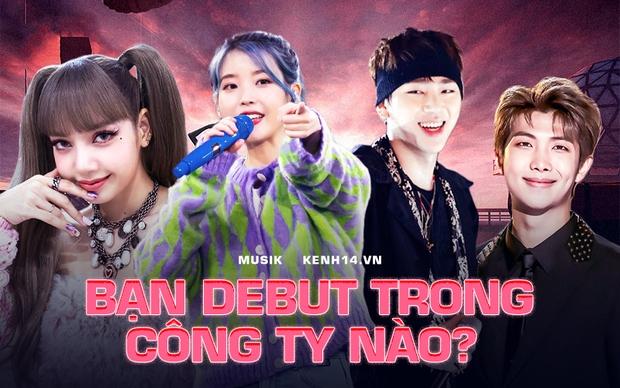 Pick ngay idol muốn lập siêu group Kpop, bạn sẽ biết mình hợp debut trong công ty giải trí nào! - Ảnh 1.