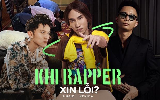 Loạt rapper sau khi bị chỉ trích: Rhymastic giải thích và xin rút kinh nghiệm, Bình Gold nhận sai, nhóm rapper đến Chùa sám hối - Ảnh 1.