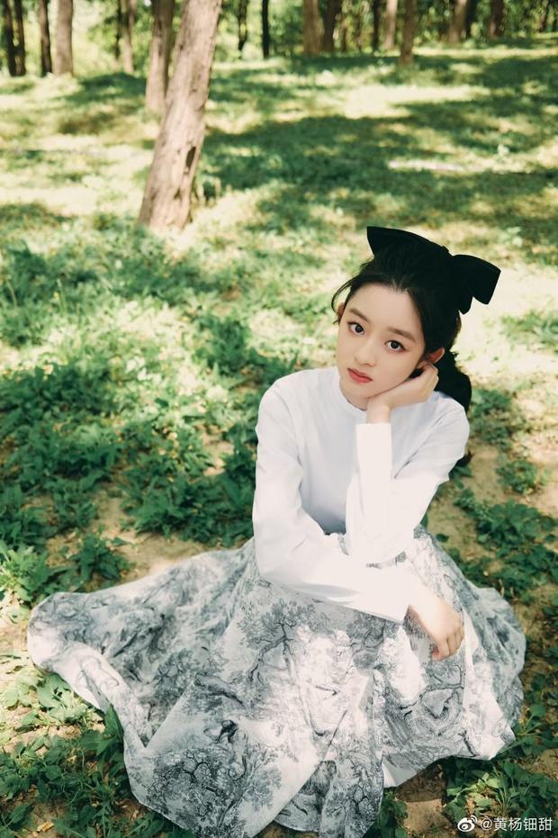 Weibo sốt xình xịch với visual tiểu mỹ nhân đóng cùng Triệu Lệ Dĩnh, mới 14 tuổi nhưng nhan sắc đã đẹp tựa tiên tử - Ảnh 16.