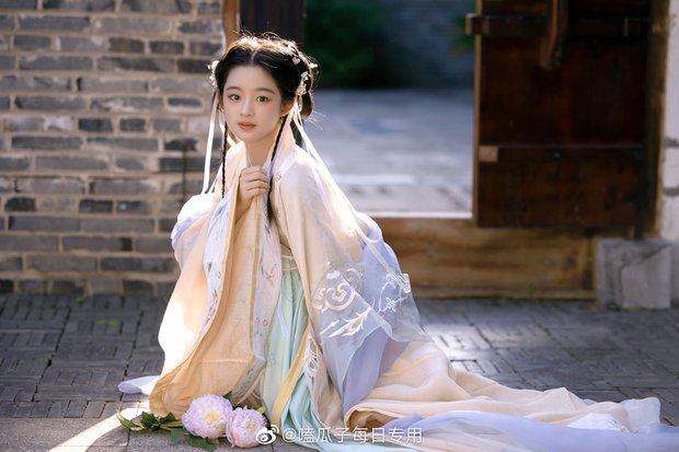 Weibo sốt xình xịch với visual tiểu mỹ nhân đóng cùng Triệu Lệ Dĩnh, mới 14 tuổi nhưng nhan sắc đã đẹp tựa tiên tử - Ảnh 6.