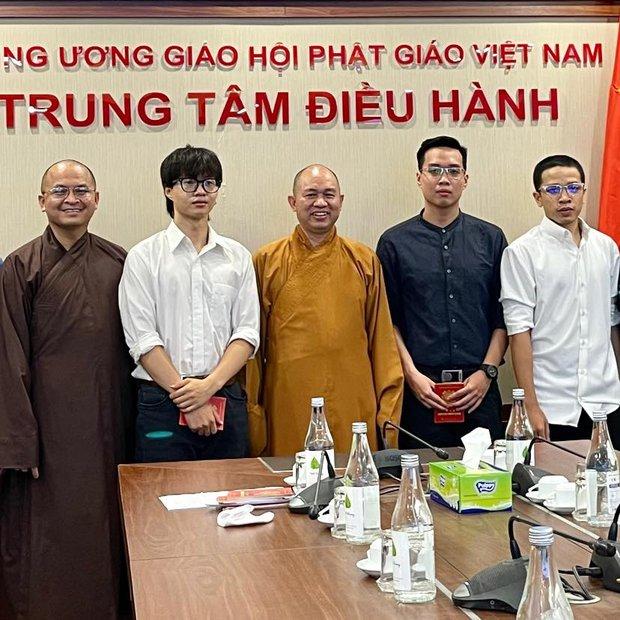 Nhóm rapper xúc phạm Phật giáo đã đến chùa sám hối và xin tham gia khóa tu mùa hè, Giáo hội Phật giáo Việt Nam cũng lên tiếng - Ảnh 4.