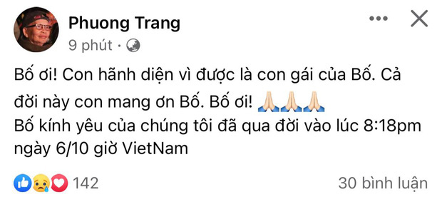 Dương Triệu Vũ đại diện thông báo tang sự cho cha, con trai ruột NS Hoài Linh có động thái khi hay tin ông nội qua đời - Ảnh 6.