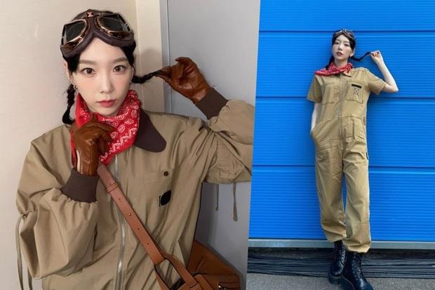Biến hoá cỡ này thì ai còn dám bảo Taeyeon chỉ có một màu! - Ảnh 4.