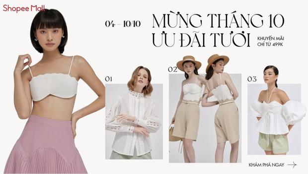 HOT: 4 local brand chuyên style dịu dàng đang sale tới hơn 50%, toàn đồ xinh yêu diện lên vừa nữ tính vừa sang chảnh - Ảnh 1.