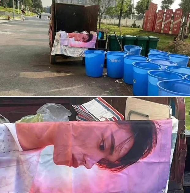 Kết cục của 1 ngôi sao gãy cánh: Tấm ảnh fan từng tranh nhau mua giờ thành khăn trải bàn lượm từ bãi rác? - Ảnh 2.
