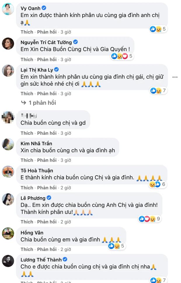 Tin buồn: Mẹ ruột Trịnh Kim Chi qua đời, NS Hồng Vân - Vy Oanh và dàn sao đồng loạt chia buồn - Ảnh 3.