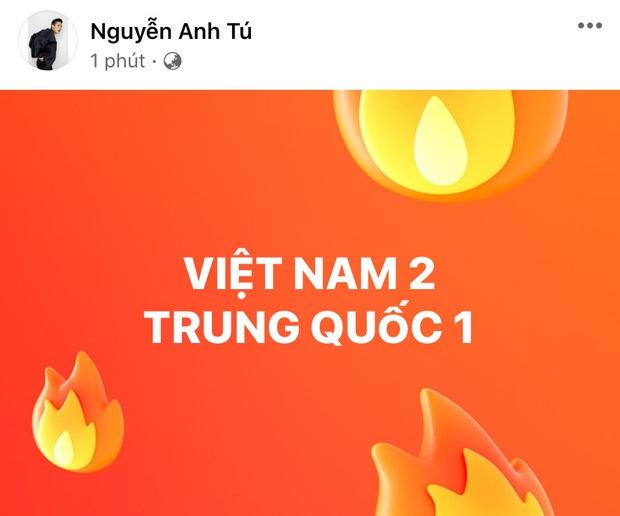 Đúng nửa đêm, Kỳ Duyên và dàn sao Vbiz hừng hực khí thế tiếp lửa cho tuyển Việt Nam trận gặp Trung Quốc - Ảnh 13.