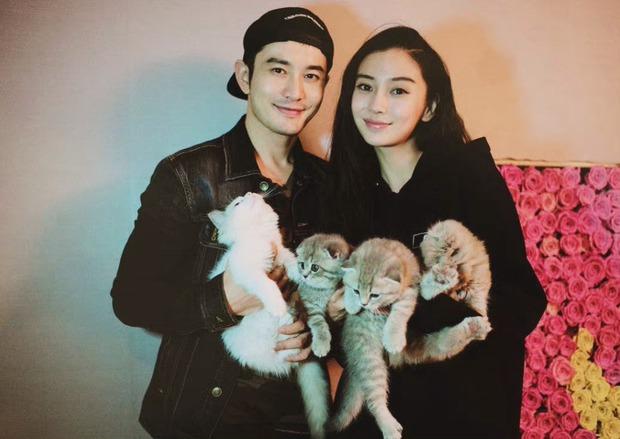Bắt gặp Angela Baby cùng Huỳnh Hiểu Minh đưa con trai đi chơi, bức ảnh không PTS tiết lộ nhan sắc gây tranh cãi - Ảnh 5.