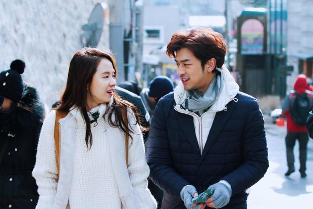 Mợ Ngố Song Ji Hyo từng lên show hẹn hò: Nam chính là trai đẹp xứ Đài, còn chụp cả bộ ảnh cưới lung linh - Ảnh 3.