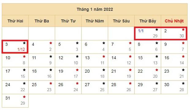 Tết Dương lịch 2022 được nghỉ mấy ngày? - Ảnh 1.