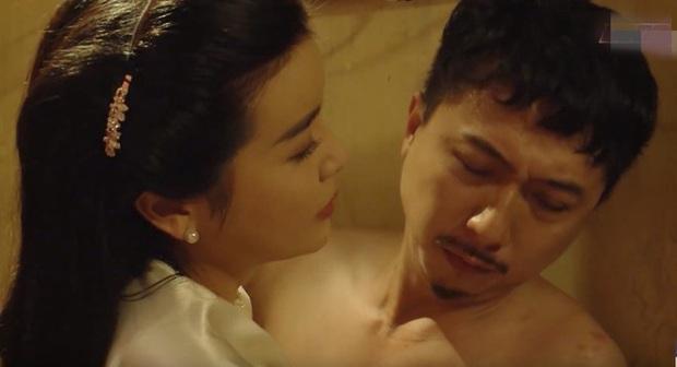 Loạt cảnh nóng đốt mắt của truyền hình Việt: Sốc nhất là màn cưỡng bức người ở của mợ Hai Cao Thái Hà - Ảnh 1.