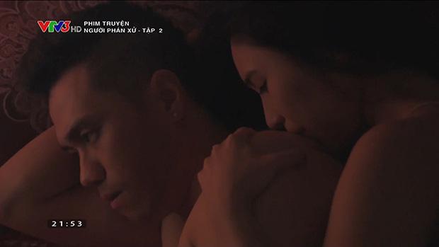 Loạt cảnh nóng đốt mắt của truyền hình Việt: Sốc nhất là màn cưỡng bức người ở của mợ Hai Cao Thái Hà - Ảnh 14.