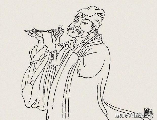 Phóng to 3 lần bức tranh kỳ lạ vẽ 3 ông lão trong Bảo tàng Cố cung, chuyên gia thốt lên: Ai xem cũng phải chột dạ! - Ảnh 3.