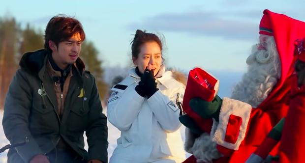 Mợ Ngố Song Ji Hyo từng lên show hẹn hò: Nam chính là trai đẹp xứ Đài, còn chụp cả bộ ảnh cưới lung linh - Ảnh 4.