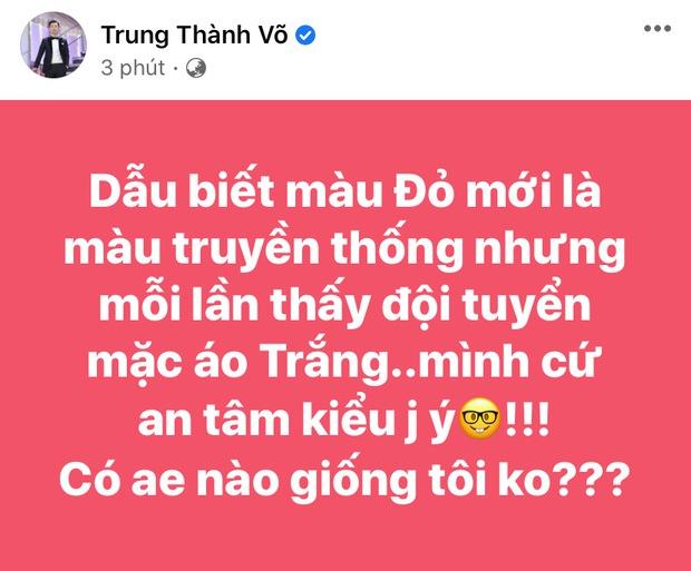Đúng nửa đêm, Kỳ Duyên và dàn sao Vbiz hừng hực khí thế tiếp lửa cho tuyển Việt Nam trận gặp Trung Quốc - Ảnh 17.