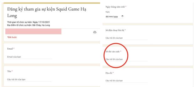 Xôn xao thông tin 1 đơn vị ở Quảng Ninh tổ chức sự kiện Squid Game quy mô lên đến 200 người, nghi vấn lừa đảo rõ mồn một? - Ảnh 2.