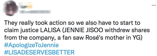 BLACKPINK sắp tan rã hay sao mà lắm biến thế: Lisa bị bay màu trên YouTube, YG tụt cổ phiếu do chính Jisoo và Jennie rút? - Ảnh 13.
