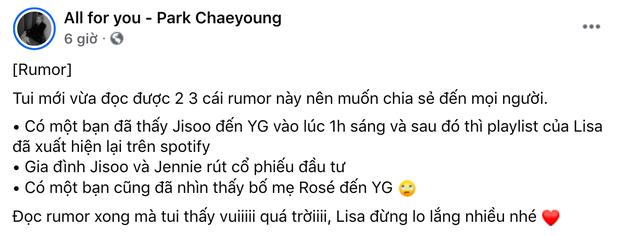 BLACKPINK sắp tan rã hay sao mà lắm biến thế: Lisa bị bay màu trên YouTube, YG tụt cổ phiếu do chính Jisoo và Jennie rút? - Ảnh 14.