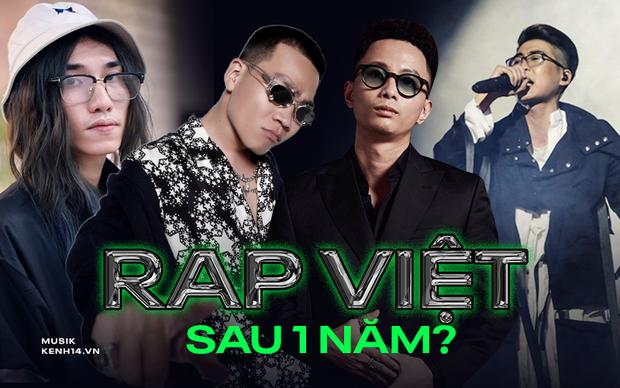 Còn nhớ cơn bão nhạc rap càn quét Việt Nam thời điểm này năm ngoái, ai ngờ đúng 1 năm sau gặp đủ thứ tranh cãi lẫn chỉ trích - Ảnh 1.