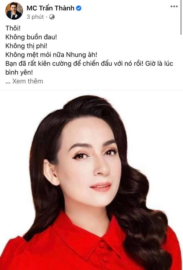 Clip: Trấn Thành nghẹn nào nói lời cuối cùng dành cho Phi Nhung, giải thích rõ về cách xưng hô với đàn chị hơn 17 tuổi - Ảnh 3.