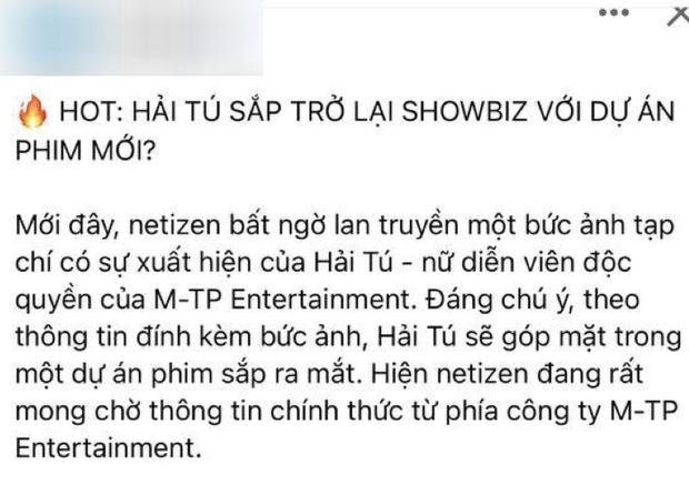 10 tháng rồi mới thấy Instagram Hải Tú khởi sắc hậu drama trà xanh, nghi vấn chuẩn bị quay lại Vbiz? - Ảnh 6.