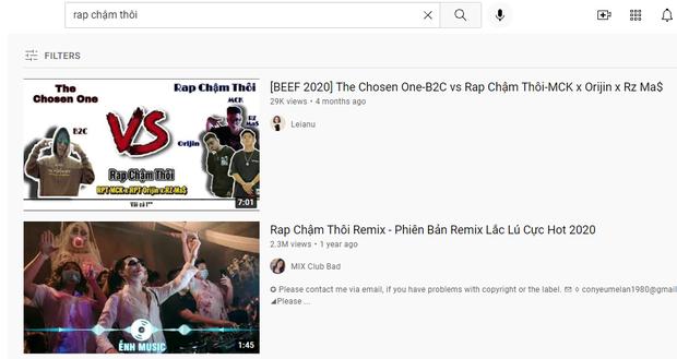 Biến mới: Bản rap của Rhymastic, Wowy đã biến mất trên YouTube sau loạt tranh cãi; sản phẩm của MCK không liên quan cũng bay màu - Ảnh 8.