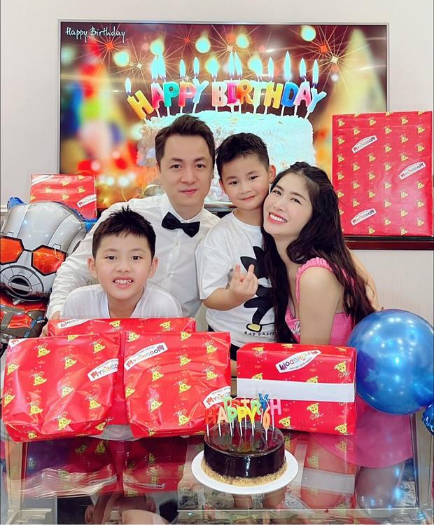 Đăng Khôi - Thuỷ Anh mừng sinh nhật hoành tráng cho con trai trong biệt thự triệu đô, hé lộ sở thích đặc biệt của nhóc tỳ 6 tuổi - Ảnh 5.