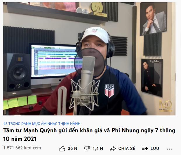 Mạnh Quỳnh đau xót hát ca khúc mới tặng cố NS Phi Nhung, ngậm ngùi chia sẻ: Không thể nào không rơi nước mắt - Ảnh 5.