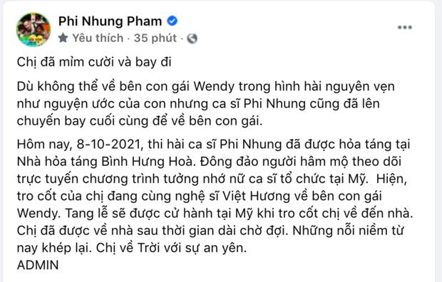 Lễ hoả táng cố ca sĩ Phi Nhung tại Việt Nam: Con trai nuôi ôm chặt di ảnh, không khí tang thương bao trùm gây đau xót - Ảnh 9.