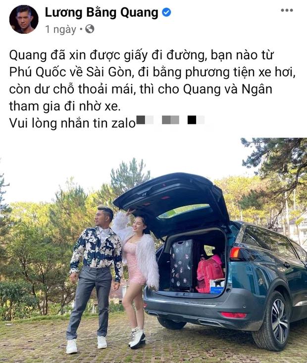 Hơn 4 tháng kẹt ở Phú Quốc và từng phải làm lao công để trang trải cuộc sống, cuối cùng Lương Bằng Quang và Ngân 98 cũng được về đất liền - Ảnh 2.