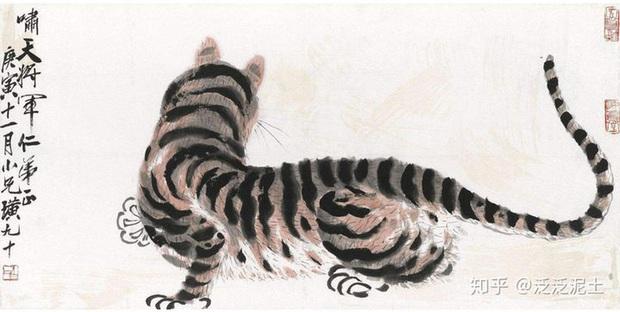 Bức tranh 100 tỷ đồng vẽ chúa sơn lâm như con mèo ốm, dân tình chế giễu nhưng chuyên gia tấm tắc: Đắt ở cái đuôi! - Ảnh 1.