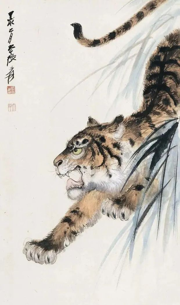 Bức tranh 100 tỷ đồng vẽ chúa sơn lâm như con mèo ốm, dân tình chế giễu nhưng chuyên gia tấm tắc: Đắt ở cái đuôi! - Ảnh 2.
