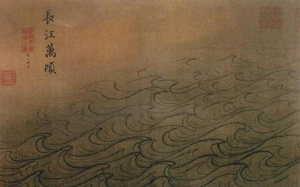 Bộ tranh quý trong Bảo tàng Cố Cung, 12 trang chỉ vẽ nước nhưng chuyên gia phải thốt lên: Không thể rời mắt! - Ảnh 3.