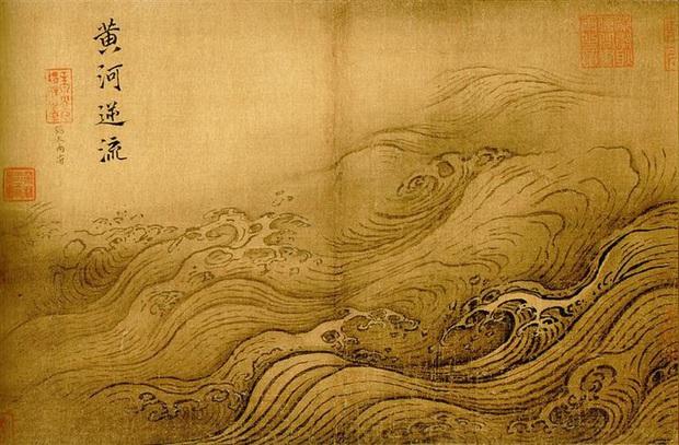 Bộ tranh quý trong Bảo tàng Cố Cung, 12 trang chỉ vẽ nước nhưng chuyên gia phải thốt lên: Không thể rời mắt! - Ảnh 4.