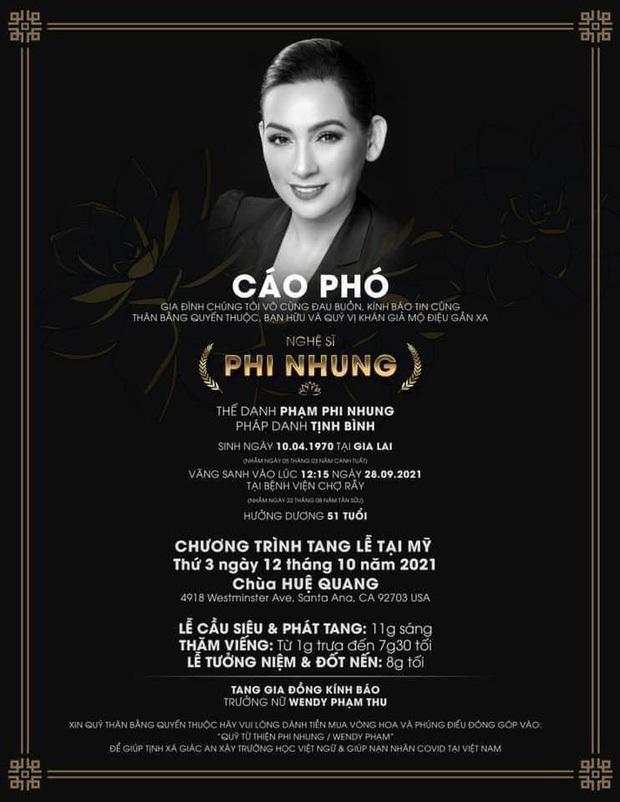 Sau tang lễ của mẹ ở Mỹ, đây là lời hứa của con gái ruột ca sĩ Phi Nhung dành cho 23 người em nuôi tại Việt Nam? - Ảnh 5.
