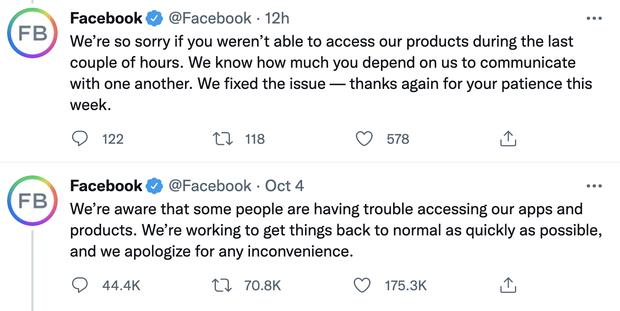 """Liên tiếp gặp sự cố chỉ trong 1 tuần, Facebook """"bốc hơi"""" hơn 2.000 tỷ doanh thu - Ảnh 2."""