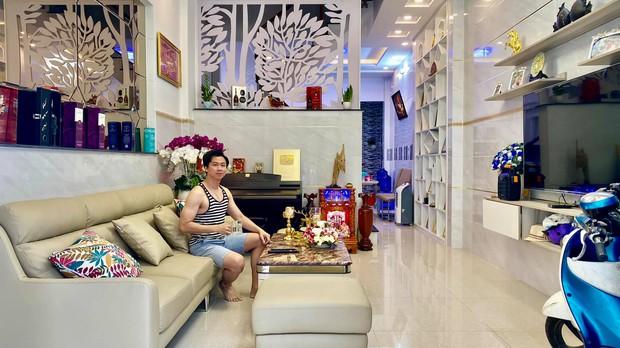 Nhà 7 tỷ rộng 100m2 của ông bố đơn thân Hồ Việt Trung - Ảnh 4.