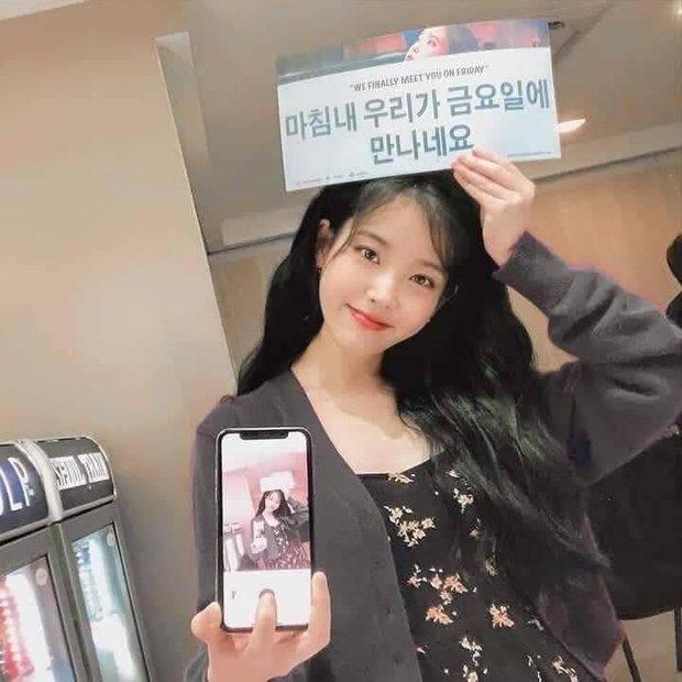 Netizen phát sốt vì trình độ selfie thượng thừa với camera sau iPhone của IU - Ảnh 3.