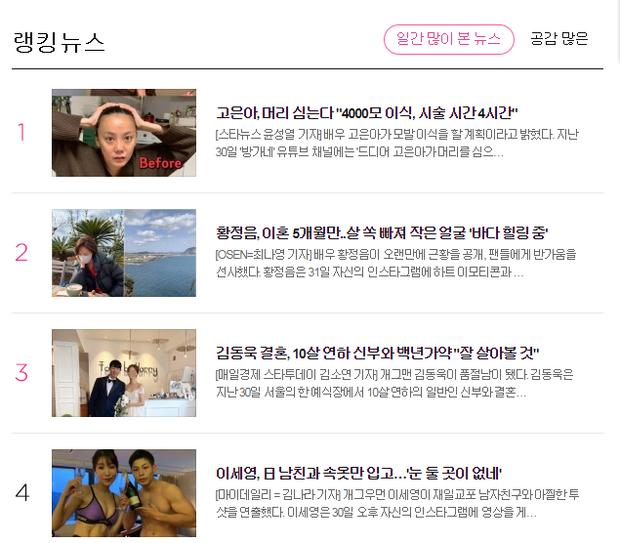 Hwang Jung Eum lần đầu lộ diện sau khi ly hôn chồng đại gia, diện mạo ra sao mà lên cả top Naver? - Ảnh 4.