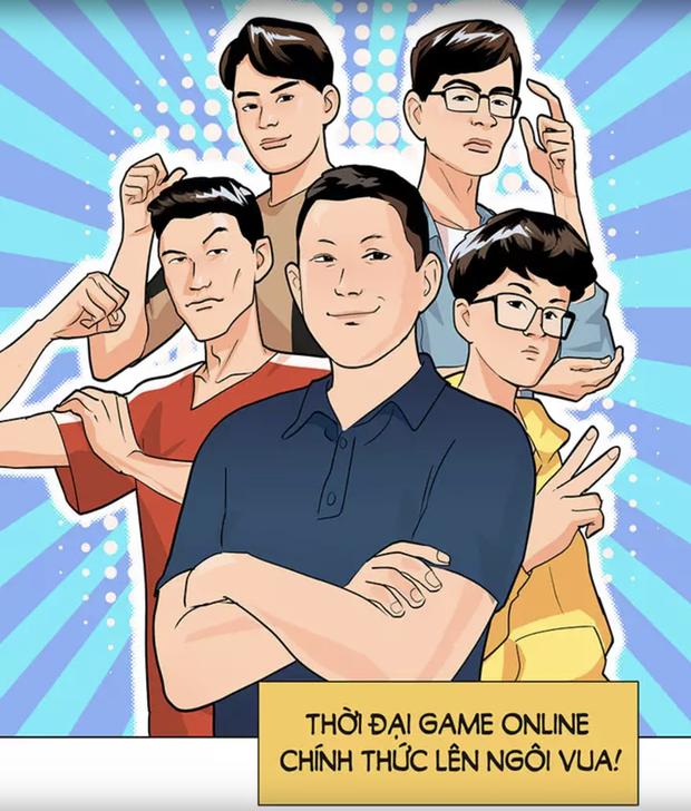 Bom tấn truyện tranh của SBTC Epsorts chính thức ra mắt: Vì háo sắc nên Thầy giáo Ba cùng học trò bị cuốn vào thế giới ảo! - Ảnh 1.