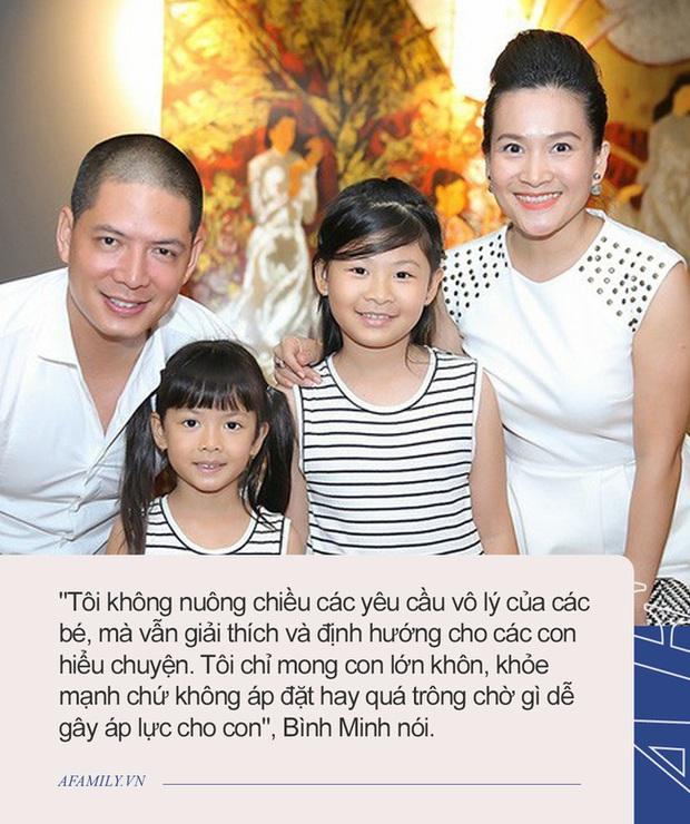 Con gái Bình Minh hỏi mẹ Sao không đăng ký thi Hoa hậu rồi tự đưa câu trả lời, đến Trương Ngọc Ánh nghe xong cũng phì cười - Ảnh 3.