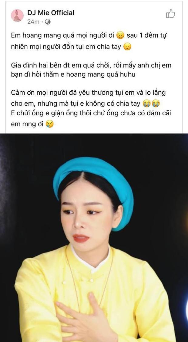 """Hồng Thanh vừa bị ném đá vì """"nhớ hơi em"""" với gái lạ, Mie lên tiếng thanh minh chưa chia tay: PR quá cồng kềnh? - Ảnh 7."""