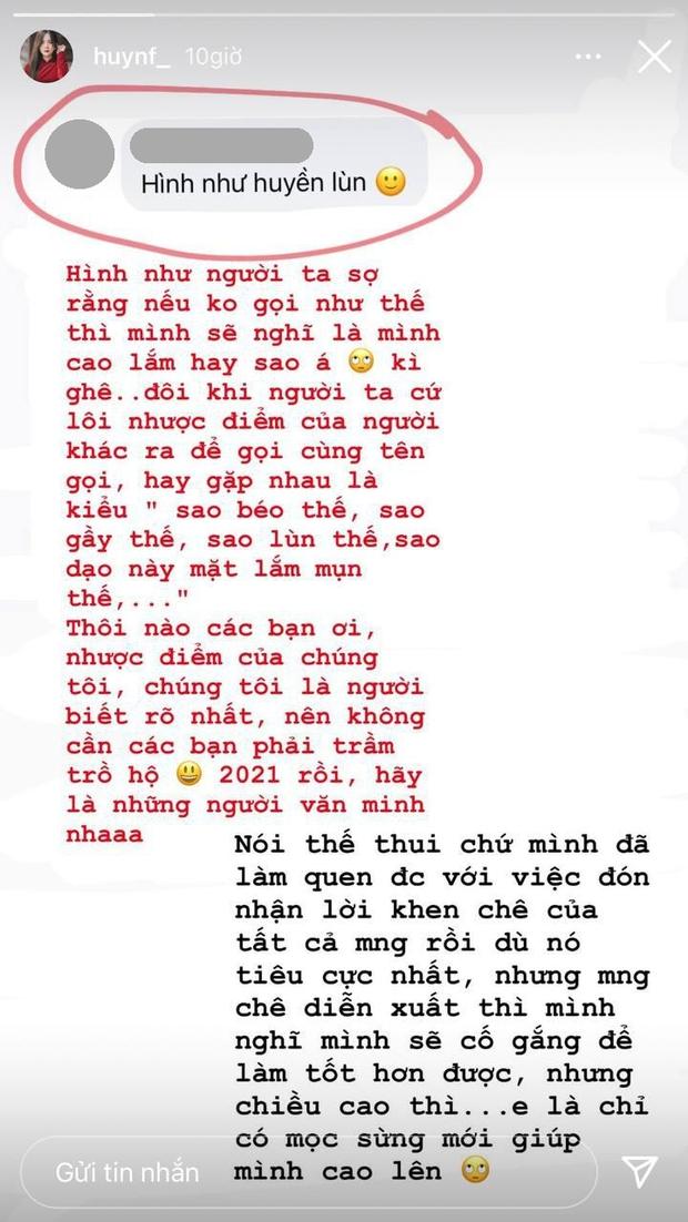 Bị netizen chê lùn, hot girl 1m53 có màn đáp trả điểm 10: E là chỉ mọc sừng mới giúp mình cao lên - Ảnh 2.
